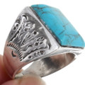 Turquoise Mens Ring 25492