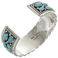 Hammered Silver Turquoise Jewelry 27033