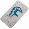 Turquoise Silver Money Clip 21048