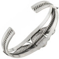 Native American Ladies Silver Cuff 12793