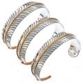 Gold Silver Bracelet 23565