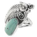 Genuine Royston Turquoise Ladies Ring 27124