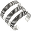 Scroll Pattern Navajo Bracelet 23132