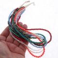 Southwest Multi Gemstone Ladies Necklace 23776