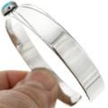 Hammered Silver Southwest Bracelet 25112