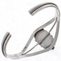 Silver Onyx Designer Southwest Bracelet 13266