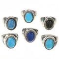 Your Choice Navajo Gemstone Rings  26936