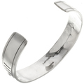 Native American Sterling Cuff Bracelet 24832