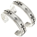 Native American Silver Bracelet 24832