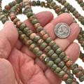 High Grade Unakite Beads 3698