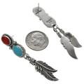 Native American Silver Post Dangles 29504