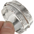 Native American Sterling Feather Cuff 26707