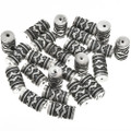 Tommy Singer Style Barrel Beads