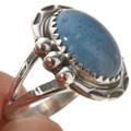 Native American Blue Denim Lapis Ring 28743