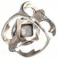 Sandcast Pattern Gemstone Ring 29015