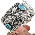 Kingman Turquoise Sterling Watch Cuff 24043