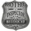 Brothel Inspector Silver Badge 17587