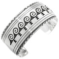 Overlaid Sterling Silver Cuff Bracelet 25508