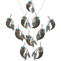 Unisex Bear Claw Pendant Necklace 24588