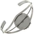 Navajo Sterling Silver Cuff Bracelet 27396