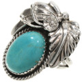 Turquoise Silver Ladies Ring 27626