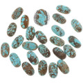 Variations in Turquoise Color and Matrix 14310