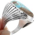 Handmade Turquoise Ring 14310