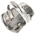 Inlaid Sterling Silver Ladies Ring 27079