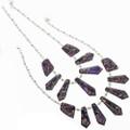 Navajo Colorful Purple Ladies Necklace 29306
