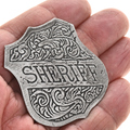 Old West Style Sheriff Badge 29004