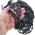 Natural Blue Crystal Beads 37224