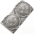 Native American Silver Concho Money Clip 28982