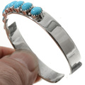 Kingman Turquoise Cuff Bracelet 27692