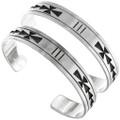 Navajo Western Silver Bracelets 23234
