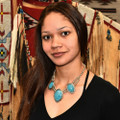 Native American Turquoise Necklace 22571
