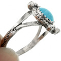 Ladies Turquoise Silver Ring 26786