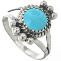 Kingman Turquoise Sterling Ring 26786
