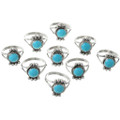 Ladies Southwest Turquoise Ring 26786