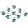 Ladies Southwest Turquoise Ring 26786