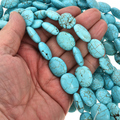 Turquoise Magnesite Beads 30874