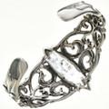 Navajo Sterling Silver Cuff Bracelet 29218