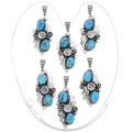 Variations in High Grade Kingman Turquoise 27027