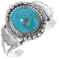 Turquoise Silver Cuff Bracelet 27150