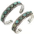 Colors of Kingman Turquoise Sterling Southwest Jewelry 21965