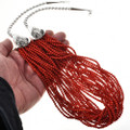Twenty Strand Coral Necklace 26535