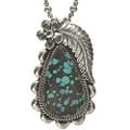 Native American Turquoise Pendant 28542