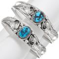 Natural Kingman Turquoise Bracelets 27489