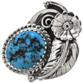 Native American Turquoise Ring 24398