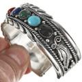 Navajo Traditional Row Bracelet 29052