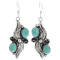 Turquoise Southwest Earrings 25868